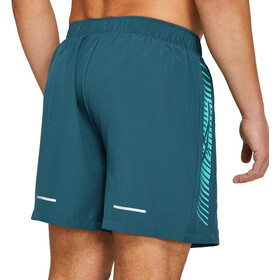 "asics Icon 7"" Shorts Hombre, Azul petróleo"